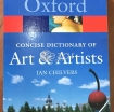 OXFORD DICTIONARY OF ART & ARTIST photo 1