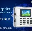fingerprint time attendance photo 1