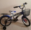 Blue bike for kids above 5 years old photo 2