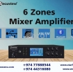 HIGH QUALITY 6 ZONES MIXER AMPLIFIER photo 1
