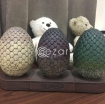 Game of Thrones : Dragon Egg Bookends photo 2