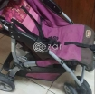 Junior baby stroller in good condition and bed photo 2