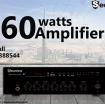 amplifier 60watts photo 1