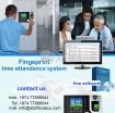fingerprint time attendance system photo 1
