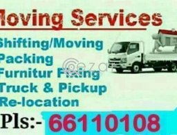 i do House shifting and Moving , House any furniture i do remove and fixing , Pickup Service, if your need anything please call me.... in Qatar