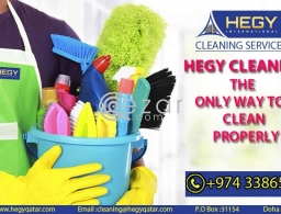 Hegy Cleaning Service Book Now in Qatar