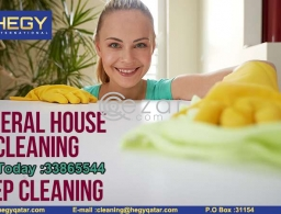 General Cleaning And Deep Cleaning Service Call us in Qatar