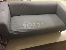 Couch for sale from ikea in good condition for sale in Qatar