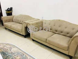 BROWUN COLOR SOFA SET for sale in Qatar
