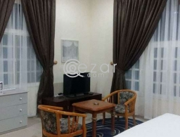 Beautiful fully furnished Villa Studio Penthouse with Roof access Including Bills for rent in Qatar