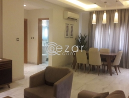 Fully furnished 3 bedroom flat al sadd for rent in Qatar