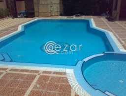 swimming pool cleaning and maintenance crevice in Qatar