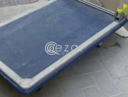 Office table and big trolley for sale for sale in Qatar