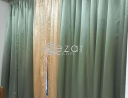 Curtain like new for sale for sale in Qatar