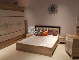 Furniture bed mattress and TV and dining table for sale in Qatar