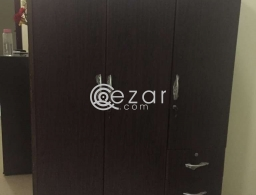3 Doors Like New Cupboard for sale in Qatar