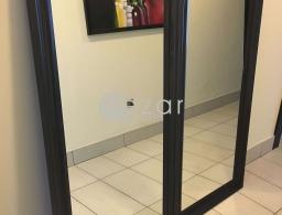 WOODEN MIRROR 74x165 cm for sale in Qatar