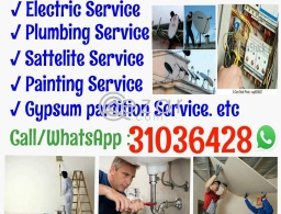 Electric & plumbing in Qatar