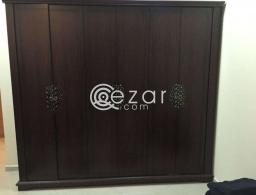 6 Door Wardrobe for sale in Qatar