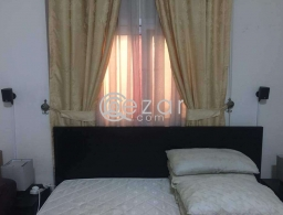 Bedroom for sale with matress and side table for sale in Qatar