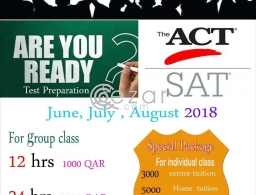 ACT/SAT PROGRAMME in Qatar