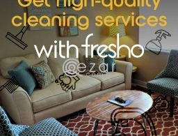 Fresho cleaning & hospitality services in Qatar