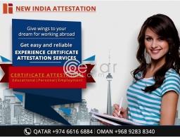 Certificate Attestation in Qatar in Qatar