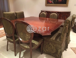 Dining Set Table & Chairs for sale in Qatar