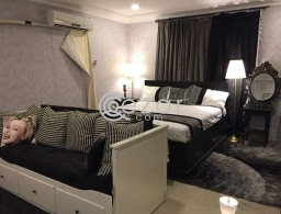 Fully Furnished Good Studio Rent in Thumama. Sofa With Cabins. Washing Machine. Refrigerator. Goo for rent in Qatar