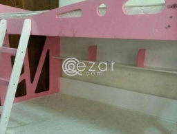Bunker Bed with Mattress for sale in Qatar