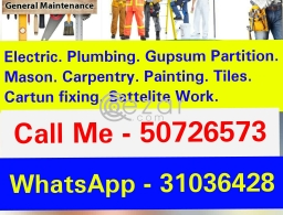 Maintenance work please contact with me 50726573 in Qatar