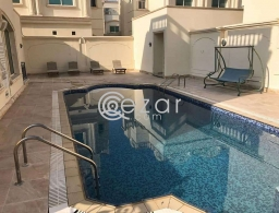 Villa for rent 2 hall, 5 bedrooms, 4 bathrooms and kitchen for rent in Qatar