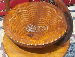 Wooden Handicrafts for daily use and Decorate for sale in Qatar