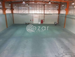 Approved warehouses with office on mezzanine | Street 39 for rent in Qatar