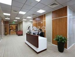 للايجار مكاتب مفروشة في بيزنس سنتر بالدائري الثالث for rent in Qatar