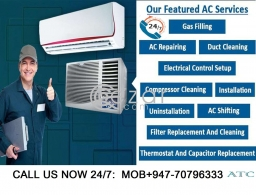 AC REPAIR IN QATAR 24/7 CALL NOW 70796333 in Qatar