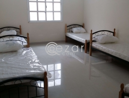 Bachelor Accommodation - Bed Space Available @ Al Wakra Pearl R A, Behind KFC for rent in Qatar