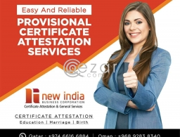 Degree Certificate Attestation in Qatar