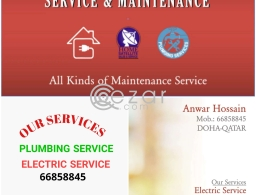 PLUMBING ELECTRIC SATELLITE ALL MAINTENANCE SERVICE in Qatar