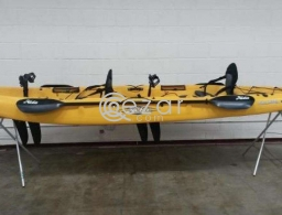 Kayak mirage outfitter the only one in Middle East in Doha Qatar