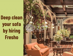 Fresho: The best sofa cleaning solution to your rescue in Qatar