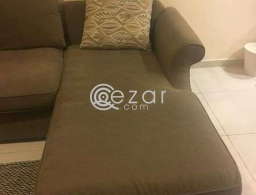 L-shaped sofa for sale in Qatar