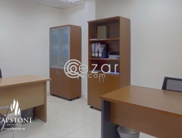 Spacious SF 5-Room Office Space in Najma for rent in Qatar