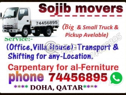 Moving shifting relocation services call 74456895 in Qatar