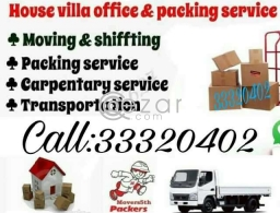 Moving and Shifting service in Qatar