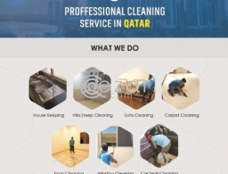 Deep cleaning services Qatar at super price Call us now in Qatar
