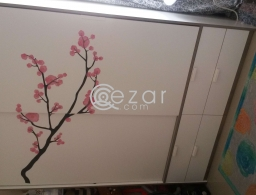 withe wardrobe for sale in Qatar