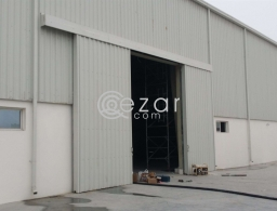 500,750,1800,2400,3000,4000 sqm store for rent in industrila area for rent in Qatar