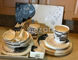 night queen dinner set 54 pieces for sale in Qatar