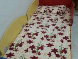 Urgent children bed with mattress for sale.. Very clean for sale in Qatar